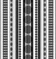 Jewelry geometric pattern art vector image vector image