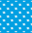 radiator pattern seamless blue vector image vector image