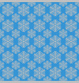 retro simple stylized snowflake pattern wallpaper vector image vector image