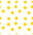 sun pattern for summer in background vector image vector image