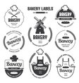 Bakery labels 1 vector image