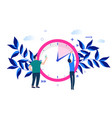concept time management vector image