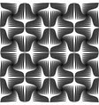 Design seamless striped geometric pattern vector image