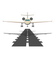 jet aeroplane on runway aircraft takeoff from