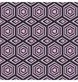 Mosaic of different colors geometric shapes of vector image vector image