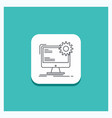 round button for internet layout page site static vector image vector image