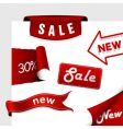 set of sale icons vector image vector image