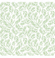 herbs seamless pattern dill endless background vector image