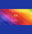 abstract bright rainbow colors gradient mesh vector image