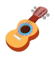 Acoustic guitar icon cartoon style vector image vector image