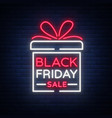black friday isolated poster banner vector image