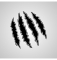 Monster claw marks vector image vector image