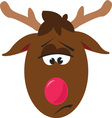 Rudolph vector image vector image