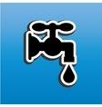 water concept icon design vector image vector image