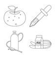 and symbol collection vector image vector image