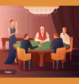 casino and poker vector image vector image