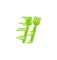 fast food logo icon design vector image vector image