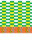 kente nwentoma seamless pattern vector image vector image