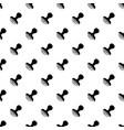 postal stamp pattern seamless vector image