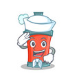 sailor aerosol spray can character cartoon vector image vector image