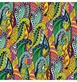 Seamless abstract hand-drawn grass pattern wavy vector image vector image