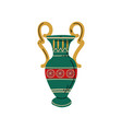 ancient vase symbol traditional egyptian vector image