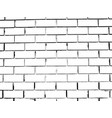 brick wall grunge background distress overlay vector image