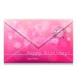 Happy Birthday bw vector image