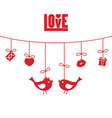 love valentines day love valentines day vector image vector image