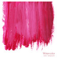 magenta pink rose marble watercolor texture vector image vector image