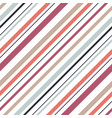 shirt diagonal stripes seamless pattern vector image vector image