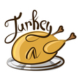 turkey vector image vector image