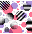 abstract modern fashion pink and purple circles vector image vector image
