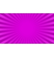 Bright rays background vector image vector image