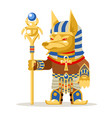 egyptian mage wiseman warlock priest fantasy vector image