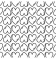 figure cute heart love icon background vector image vector image