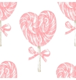 hand drawn lollipop seamless vector image vector image