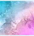 pastel coloured background with a watercolour vector image vector image