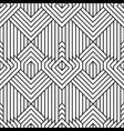 abstract simple geometric seamless pattern vector image vector image