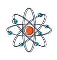 atom icon image vector image