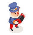 harmonika accordion music playing singing vector image vector image