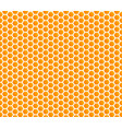 honey comb hexagonal background seamless vector image vector image
