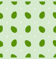 seamless summerl pattern with green mint leaves vector image vector image
