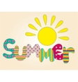 summer time vector image