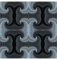 Abstract baroque seamless pattern texture vector image vector image