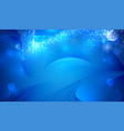 blue deep elegant abstraction vector image vector image