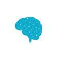 brain icon template vector image vector image