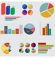business diagrams and graphics vector image vector image