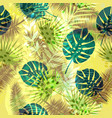 colourful trendy seamless exotic pattern with vector image vector image