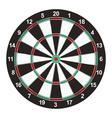 Dart Board vector image vector image